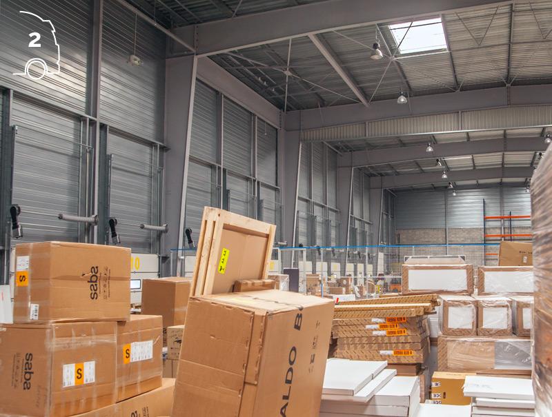 Stockage/cross-dock/préparation de commande/distribution
