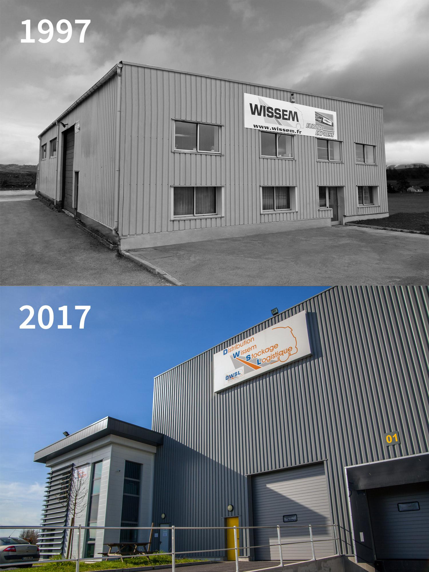 1997 - 2017 : 20 ans d'expérience